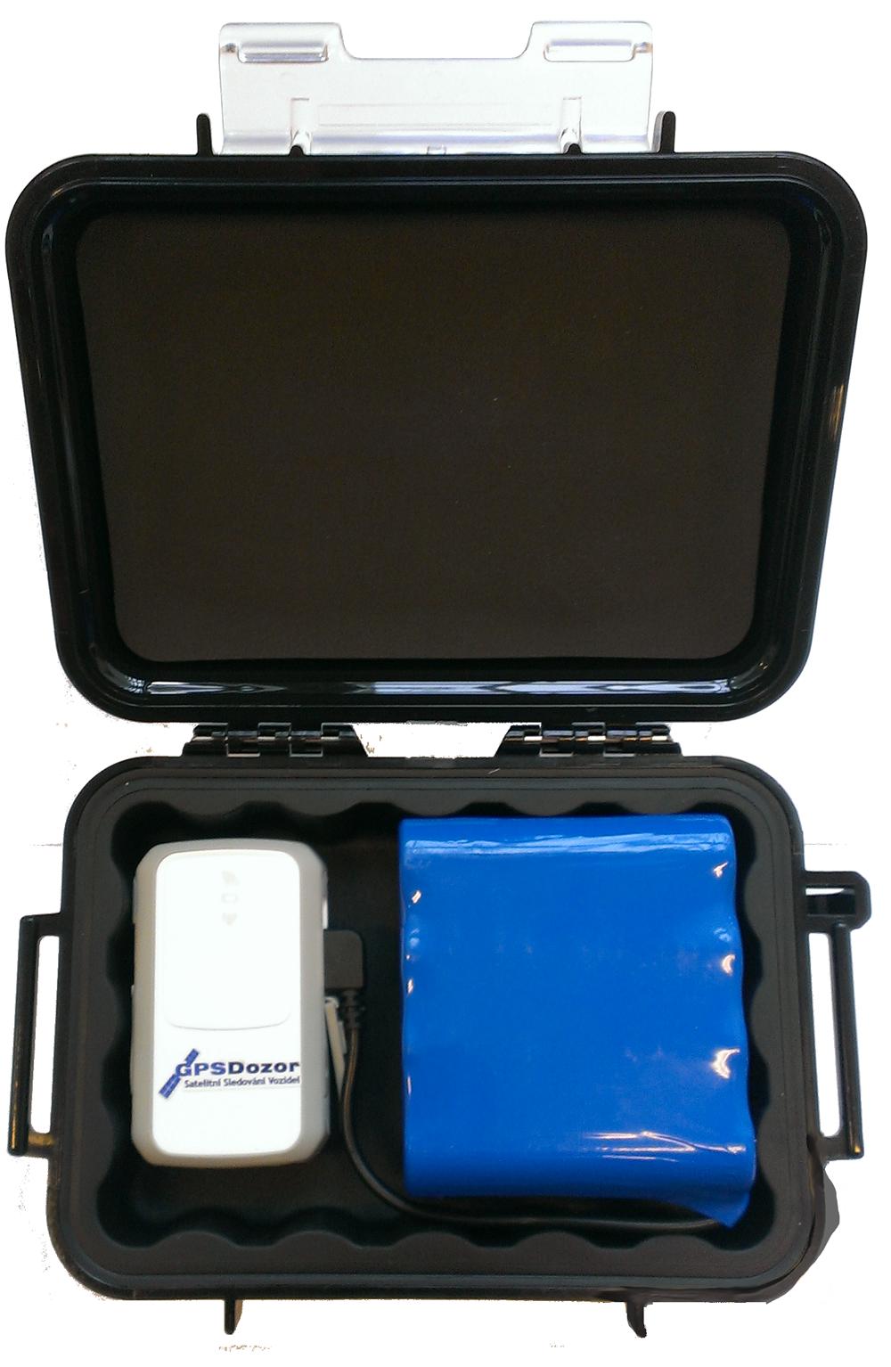 GPS Dozor Tracker s odolným kufříkem